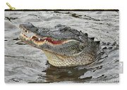 Happy Florida Gator Carry-all Pouch