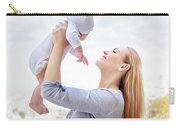 Happy Mother With Baby Carry-all Pouch