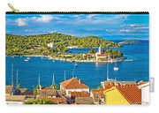 Harbor Of Vis Island Panorama Carry-all Pouch