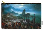 Harbour Scene With Christ Preaching Carry-all Pouch