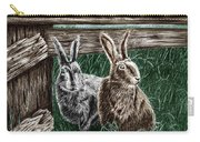 Hare Line  Carry-all Pouch