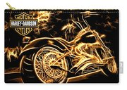Harley-davidson Carry-all Pouch by Aaron Berg