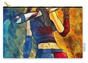 Harley Quinn Spicy - Van Gogh Style Carry-all Pouch