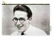 Harold Lloyd, Legend Of The Silver Screen Carry-all Pouch