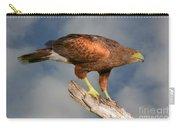 Harris's Hawk On Watch Carry-all Pouch