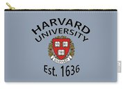 Harvard University Est. 1636 Carry-all Pouch