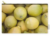 Harvested Lemons Carry-all Pouch