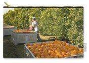 Harvesting Navel Oranges Carry-all Pouch