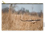 Hawk Soaring Over Field Carry-all Pouch