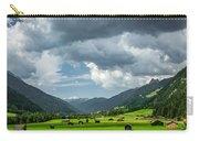 Hay Barns In Oberinntal, Pettneu Am Arlberg Carry-all Pouch