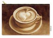 Heart Latte II Carry-all Pouch