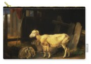 Heath Ewe And Lambs Carry-all Pouch