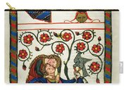 Heidelberg Lieder, 14th C Carry-all Pouch