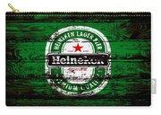 Heineken Beer Wood Sign 1e Carry-all Pouch