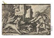 Hercules Capturing Cerberus Carry-all Pouch