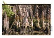 Heron And Cypress Knees Carry-all Pouch