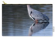Heron Reflection Carry-all Pouch