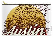 Congress Avenue Bridge Bats Take Flight In Austin Texas Carry-all Pouch