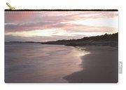 Highcliffe Beach At Sunset Carry-all Pouch