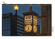 Historic Clock - Beaumont Texas Carry-all Pouch