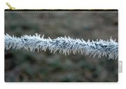 Hoar Frost At Sun Up Carry-all Pouch