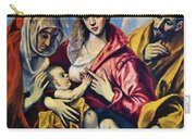 Holy Family With St Anne Carry-all Pouch