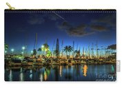 Honolulu Harbor By Night Carry-all Pouch