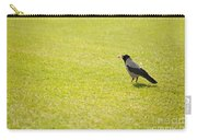 Hooded Crow Bird Gathering Hay Carry-all Pouch