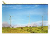 Horizontal Axis Wind Turbines. Panorama Carry-all Pouch