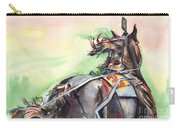 Horse Art In Watercolor Carry-all Pouch