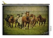 Horses 27 Carry-all Pouch