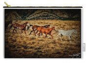 Horses 28 Carry-all Pouch