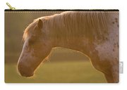 Horses In The Evening Light Carry-all Pouch