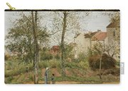 Houses At Bougival  Carry-all Pouch