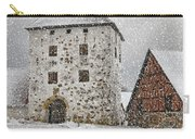 Hovdala Castle Gatehouse In Winter Carry-all Pouch