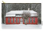 Hovdala Castle Orangery In Winter Carry-all Pouch