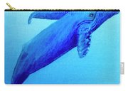 Humpback Mother Whale And Calf #21 Carry-all Pouch