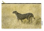 Hunting Cheetah Carry-all Pouch