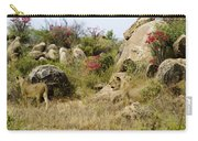 Hunting Lionesses Carry-all Pouch