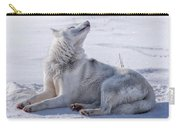 Huskies In Ilulissat, Greenland Carry-all Pouch