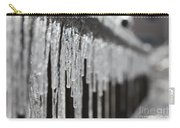 Icicles At Attention Carry-all Pouch