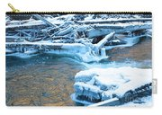 Icy Blue River Carry-all Pouch