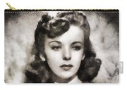 Ida Lupino, Vintage Actress Carry-all Pouch