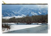 Idaho Winter River Carry-all Pouch
