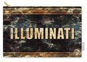 Illuminati Pop Art By Mary Bassett Carry-all Pouch