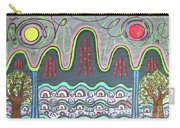 Ilwolobongdo Abstract Landscape Painting Carry-all Pouch