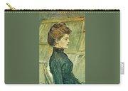 img296 Henri De Toulouse-Lautrec Carry-all Pouch