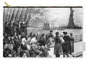 Immigrants On Ship, 1887 Carry-all Pouch