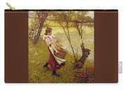 In The Orchard Haylands Graffham Henry Herbert La Thangue Carry-all Pouch