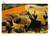 Indian Baskets 2 Carry-all Pouch